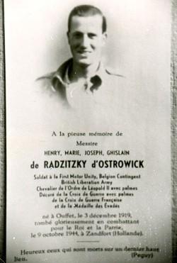 Henri de Radzitzky d'Ostrowick