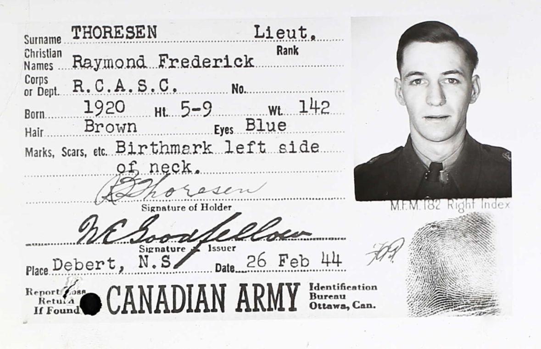 Raymond Frederick Thoresen