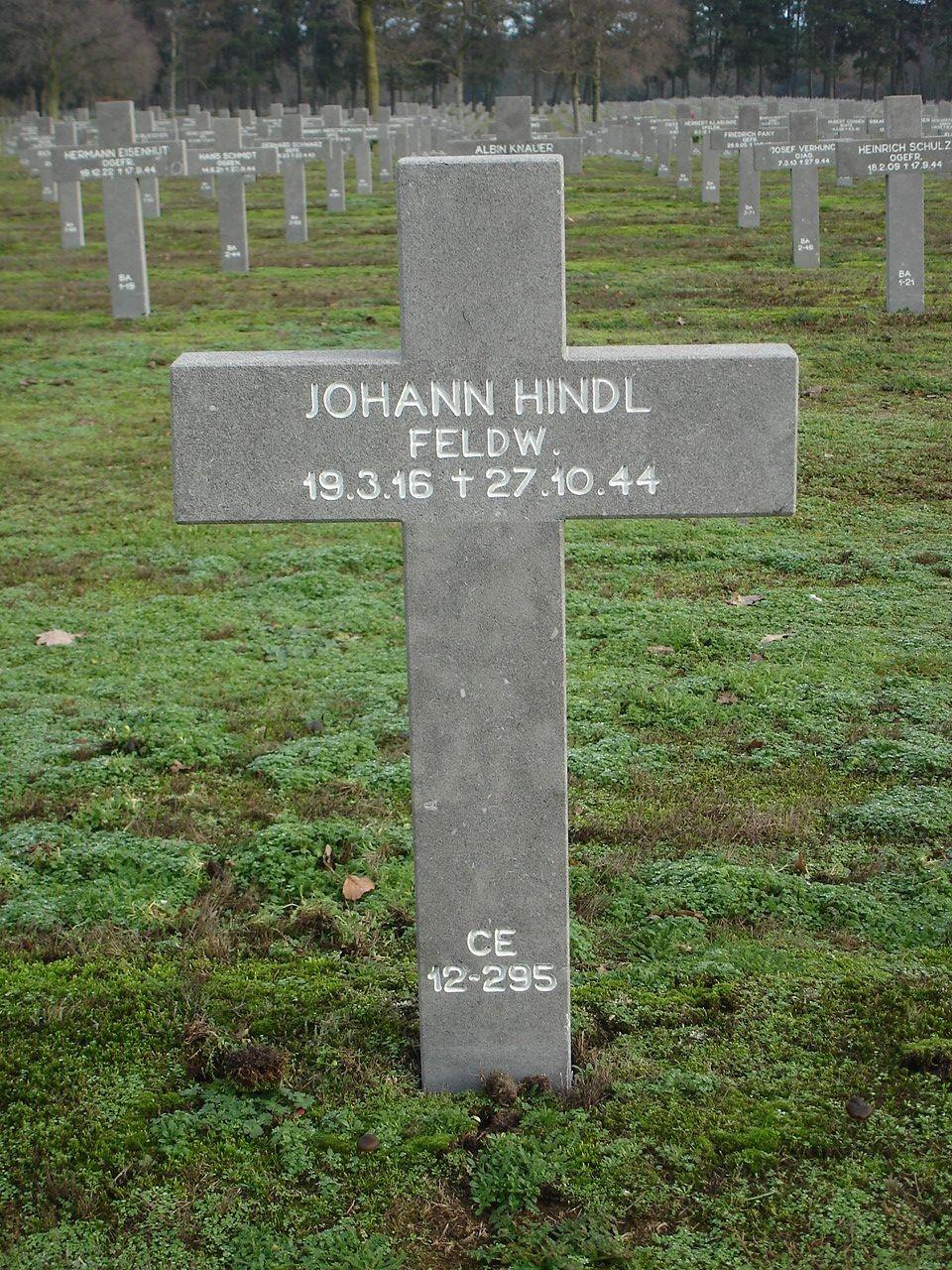 Johann   Hindl