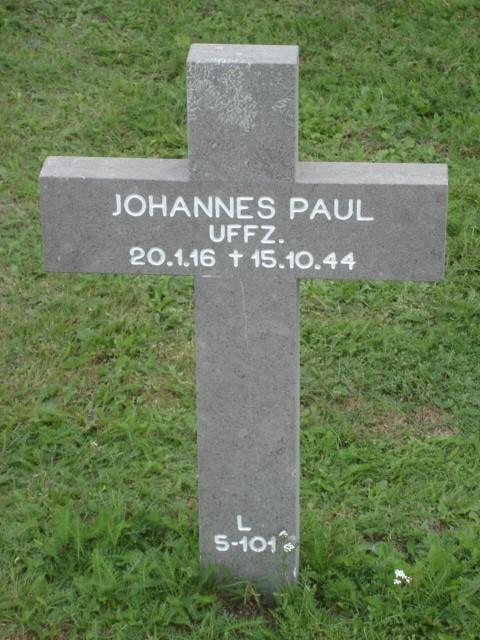 Johannes Alfred Paul
