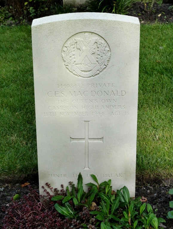 Charles Edward Stuart MacDonald