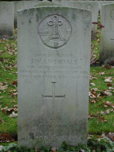 John William James Webdale