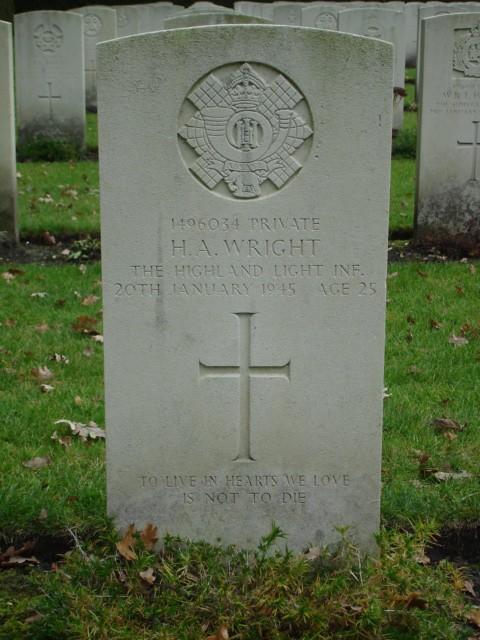 Herbert Albert Wright
