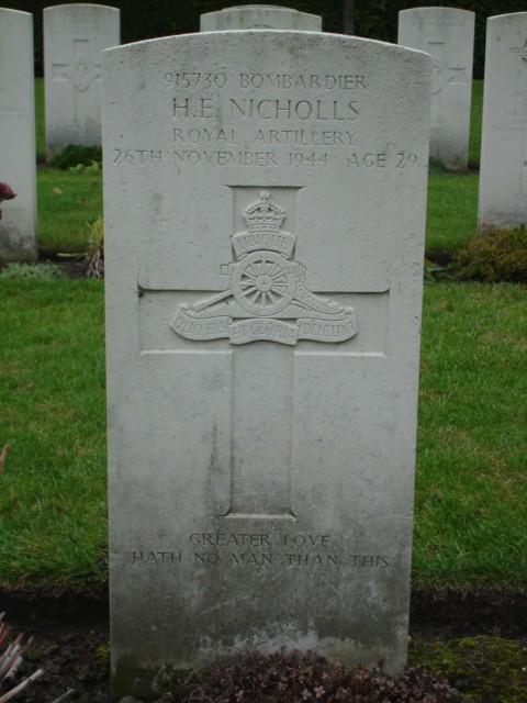 Henry Edgar Nicholls