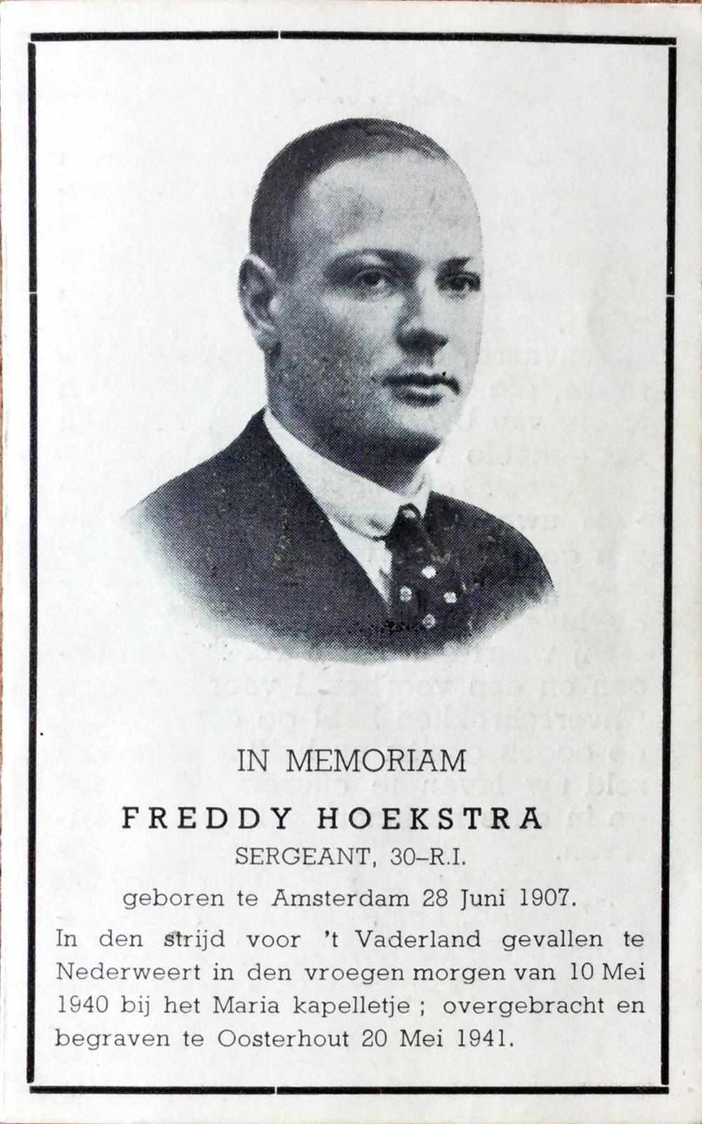 Frederikus Joannes Antonius Hoekstra