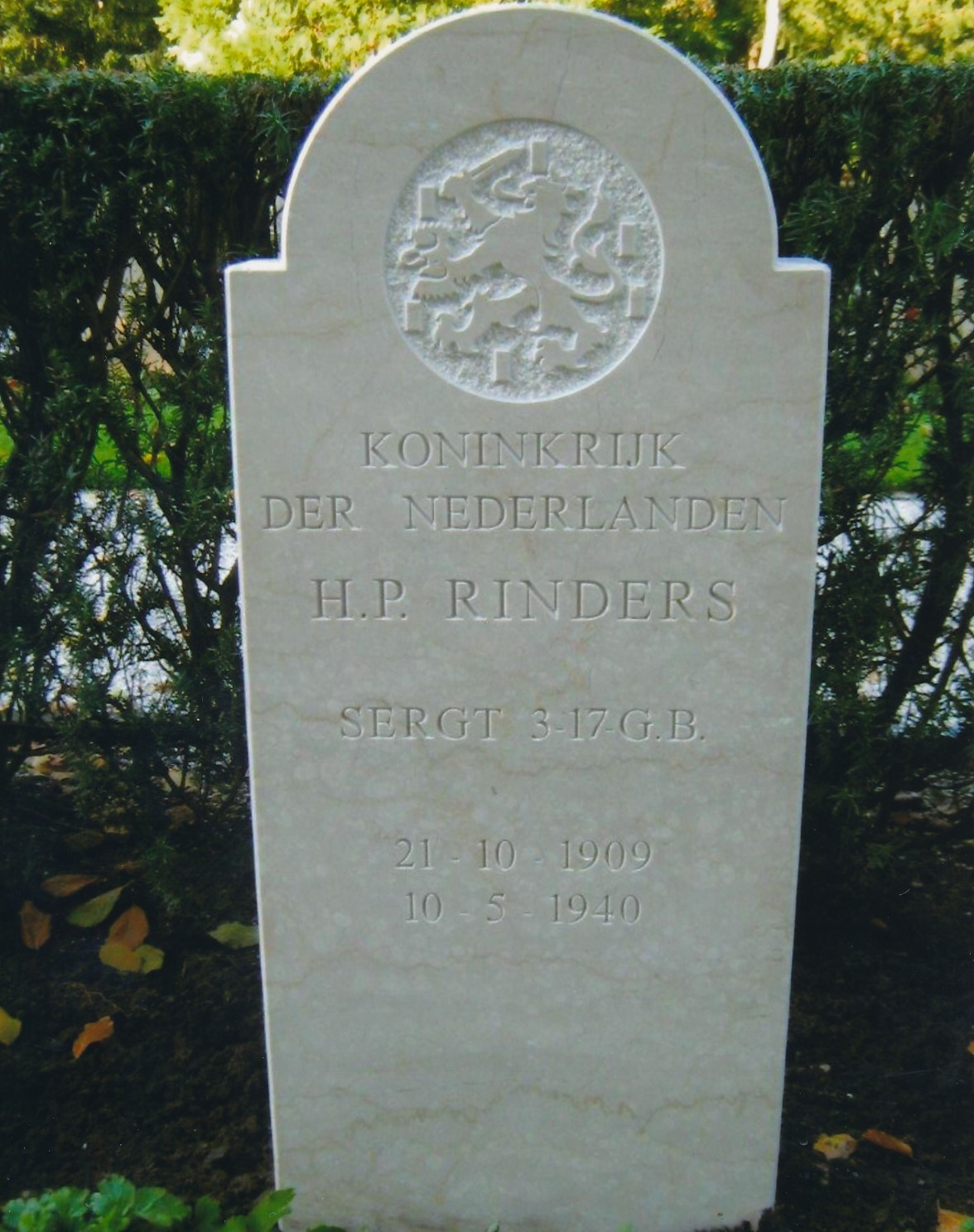 Hendrik Pieter Rinders