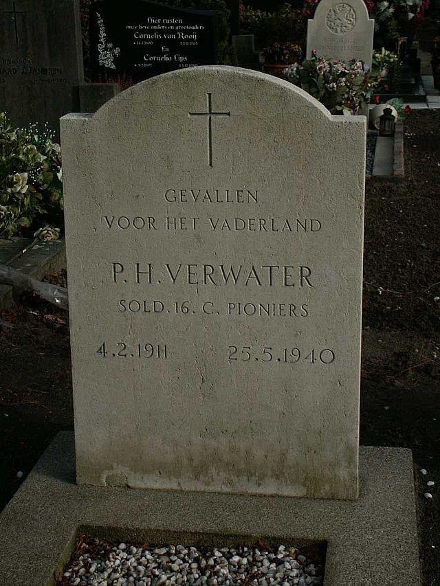 Petrus Hendricus Verwater